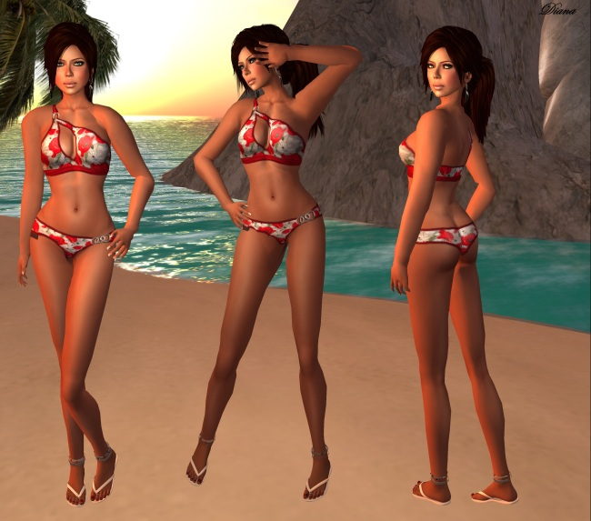 NEW *CandyDoll* Girlie Swimwear – Lazy Sunday Item,not longer
