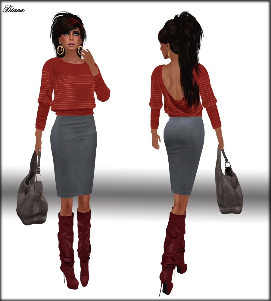 Diana and New*Maitreya*Clothes and Boots (2/5)