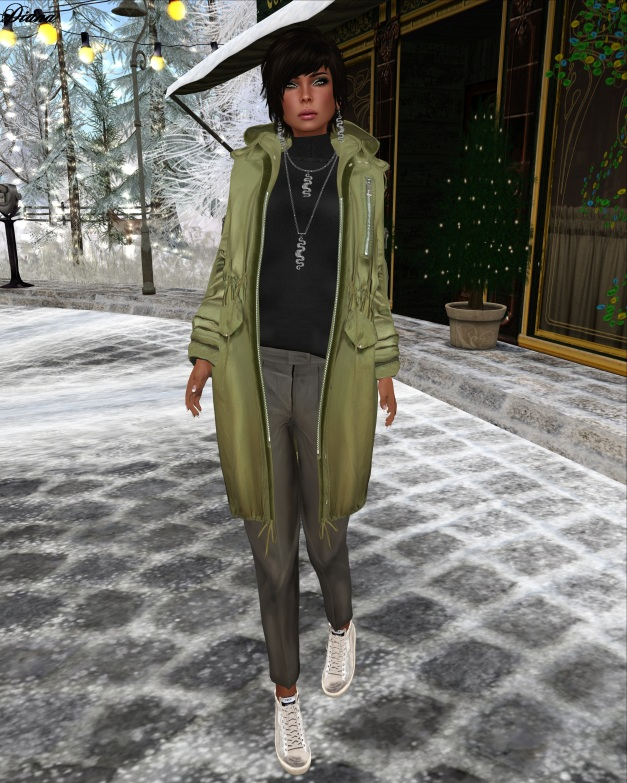 Coco - MilitaryParka and TaperedPants-1