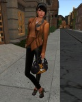 erratic - Vanity Leather Jacket (pecan)-1