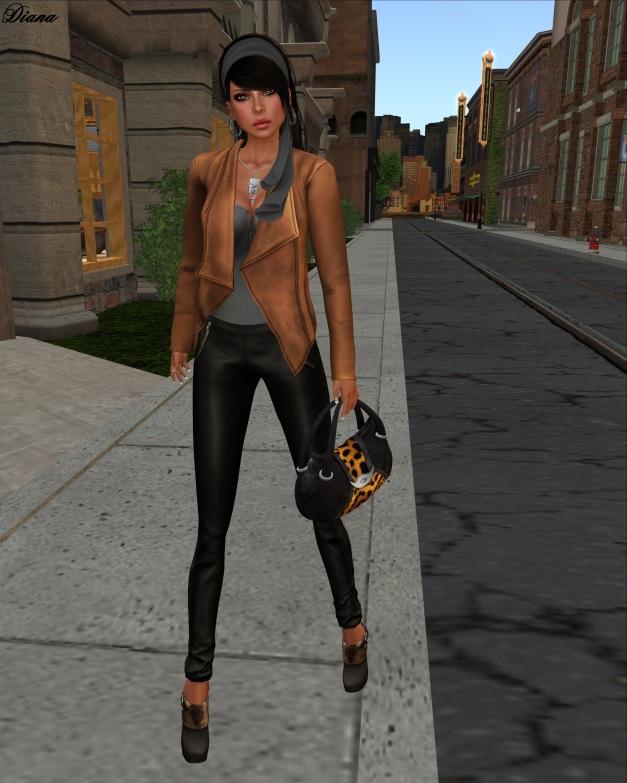 erratic - Vanity Leather Jacket (pecan)-2