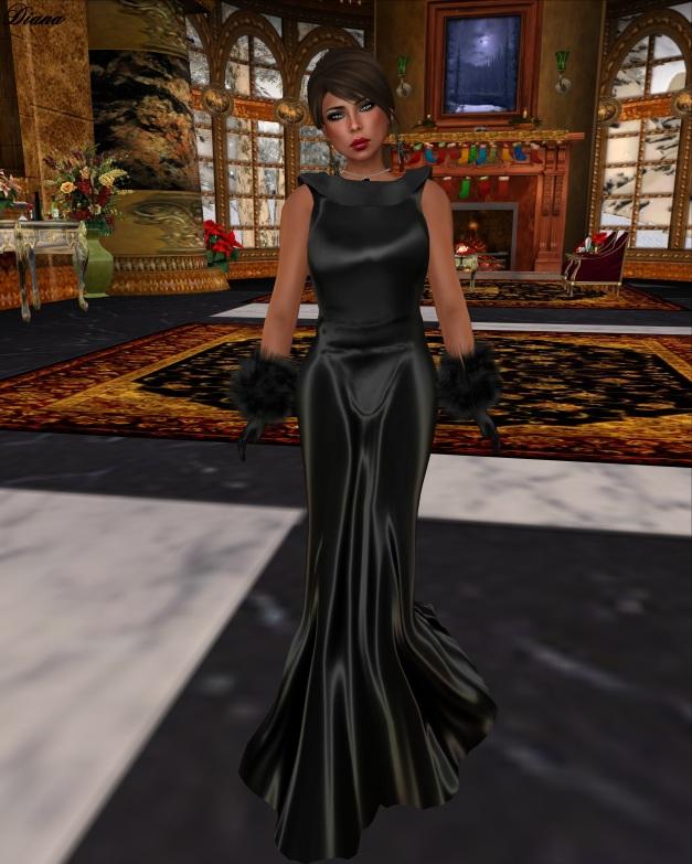 GizzA -  Linnda Gown Mesh-1