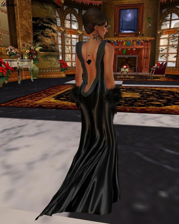 GizzA -  Linnda Gown Mesh-2