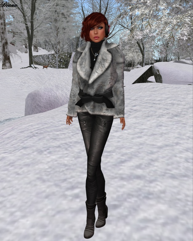 !gO! - Fur Jacket (gray)