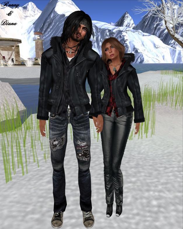 grasp - Fur Hooded Military Jacket (black)