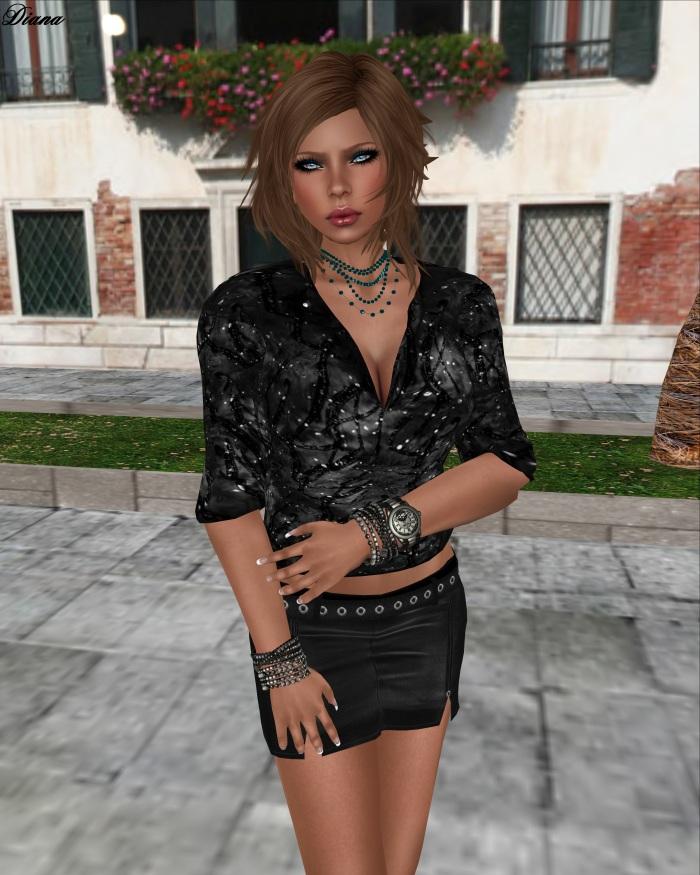 Immerschoen-BodyCult Mesh Shirts Helen black
