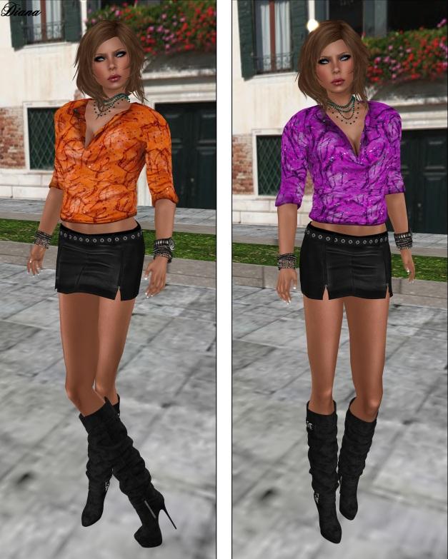 Immerschoen-BodyCult Mesh Shirts Helen rowan and violet