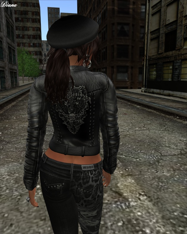Immerschoen - Mesh Biker Leather Jacket Davi