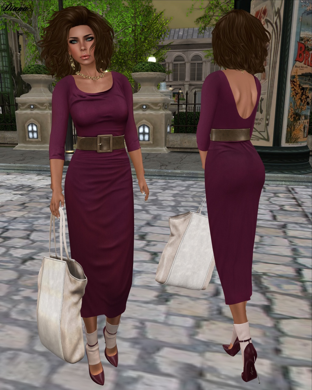 Maitreya - Long Jersey Dress