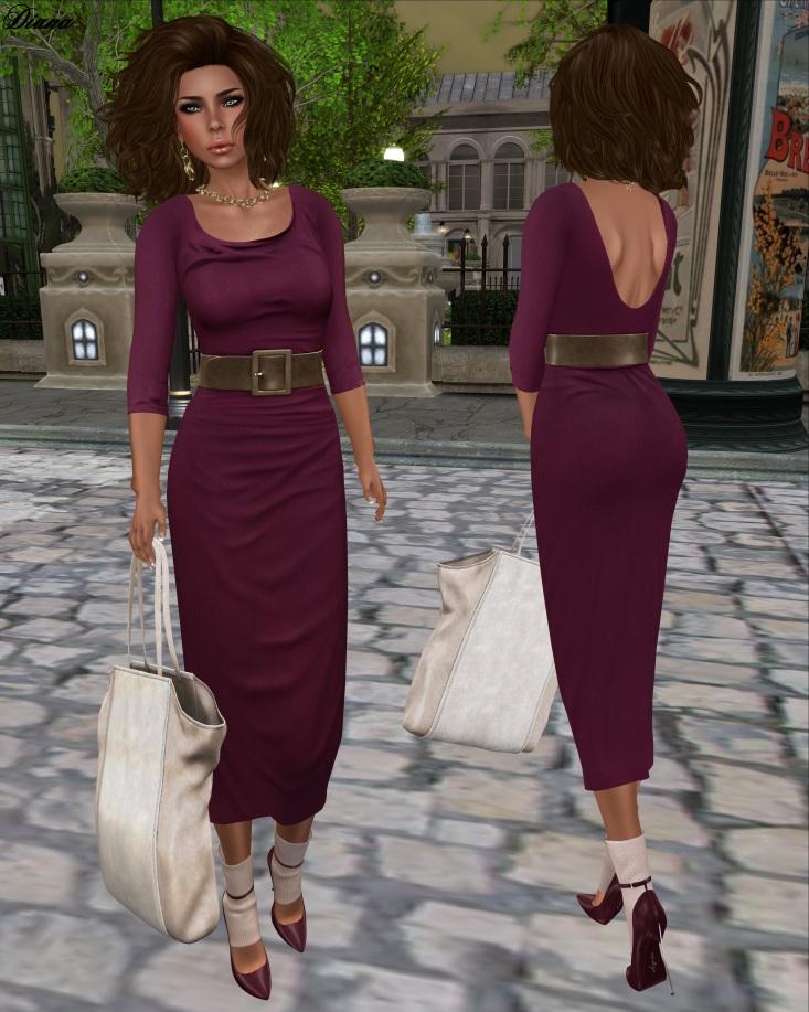 Maitreya - Long Jersey Dress