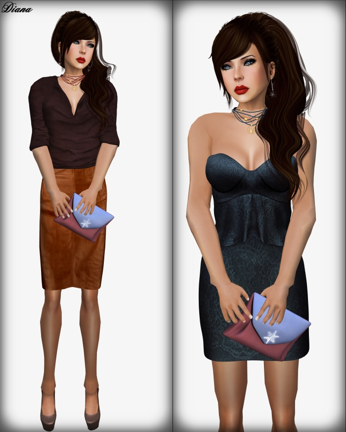 PM - Lua Top + Milana Skirt and Baiastice - Syl Mesh Dress