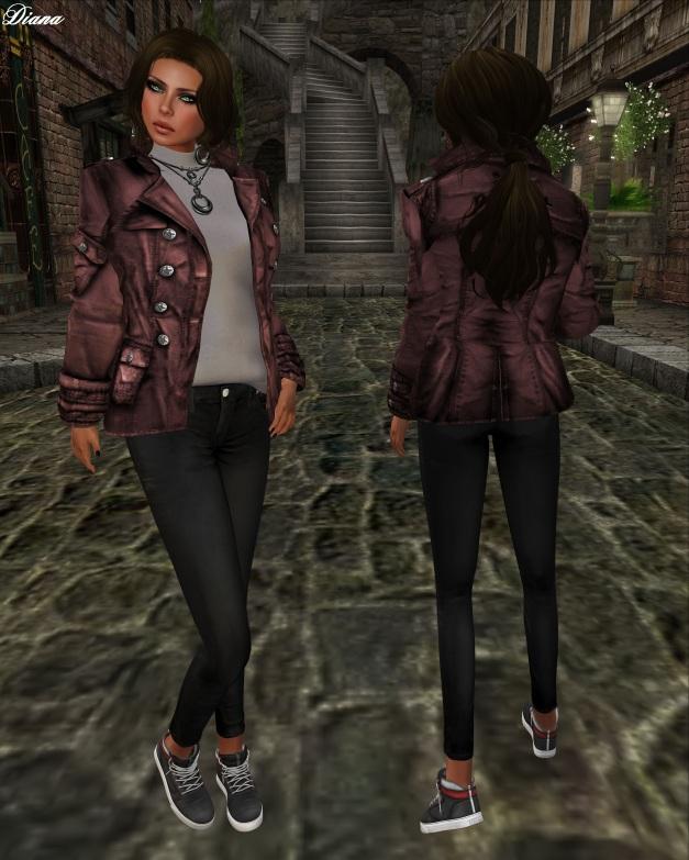 Poison - Whiplash Jacket Mesh (red)