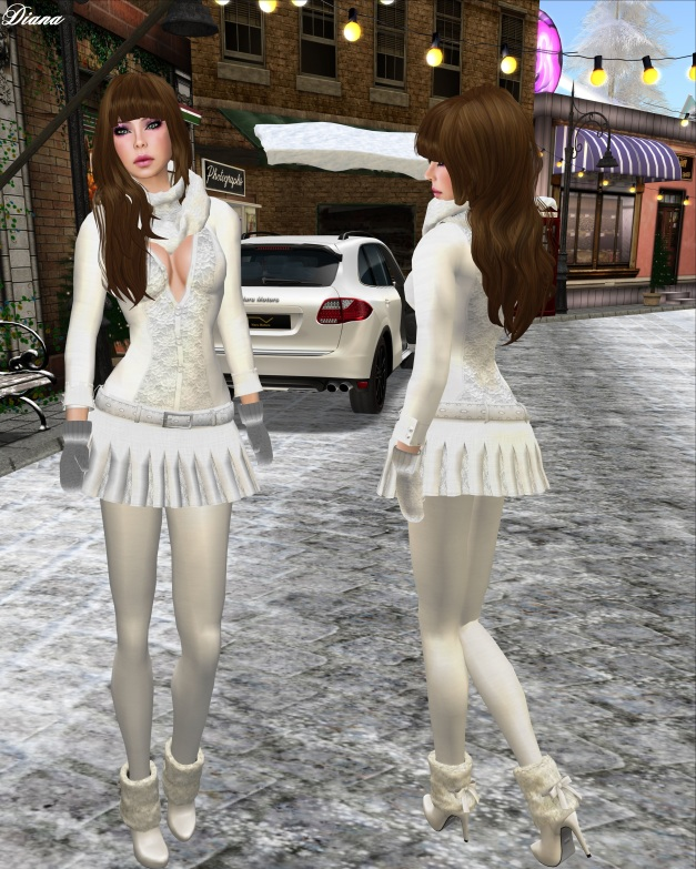 Sakide - First Frost Outfits
