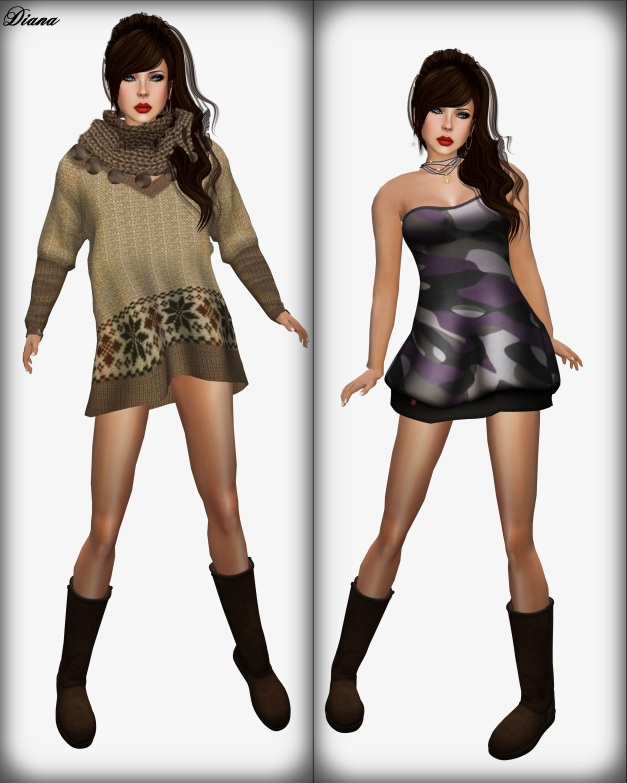 Zenith - Sweater BallBall and Ducknipple -  With Love Dress