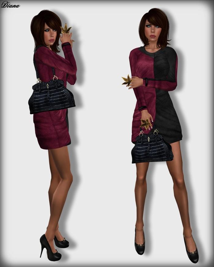 Baiastice - Monique Suede Dress
