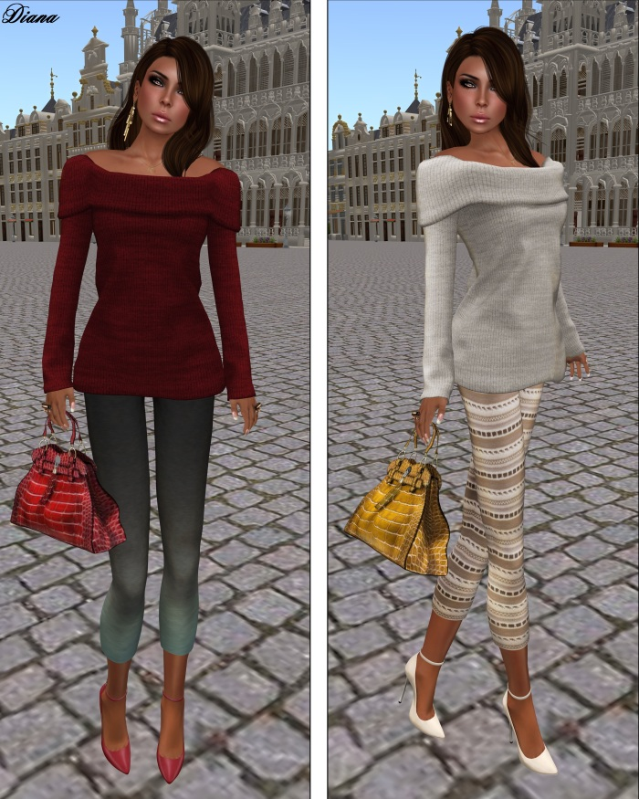 coldLogic - leggings jessop blue and shirt yapple scarlet - leggings strothers khaki and shirt yapple cream