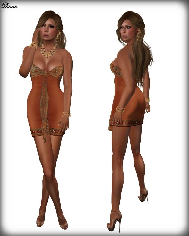 GizzA - Hankie Dress (Orient)