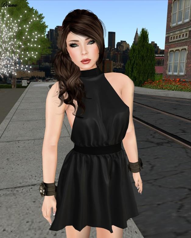 Glam Affair - Livia coal