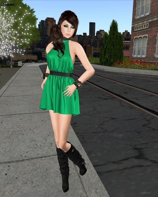 Glam Affair - Livia emerald