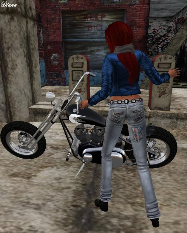 Immerschoen-BodyCult - Mesh Jeans Patriot USA bleached
