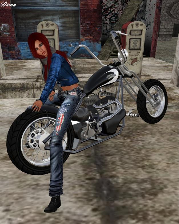 Immerschoen-BodyCult - Mesh Jeans Patriot USA indigo