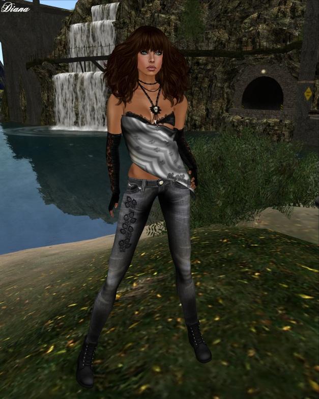 Immerschoen-BodyCult - Outfit TopSecret black