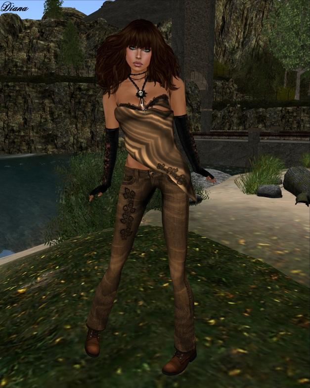 Immerschoen-BodyCult - Outfit TopSecret brown