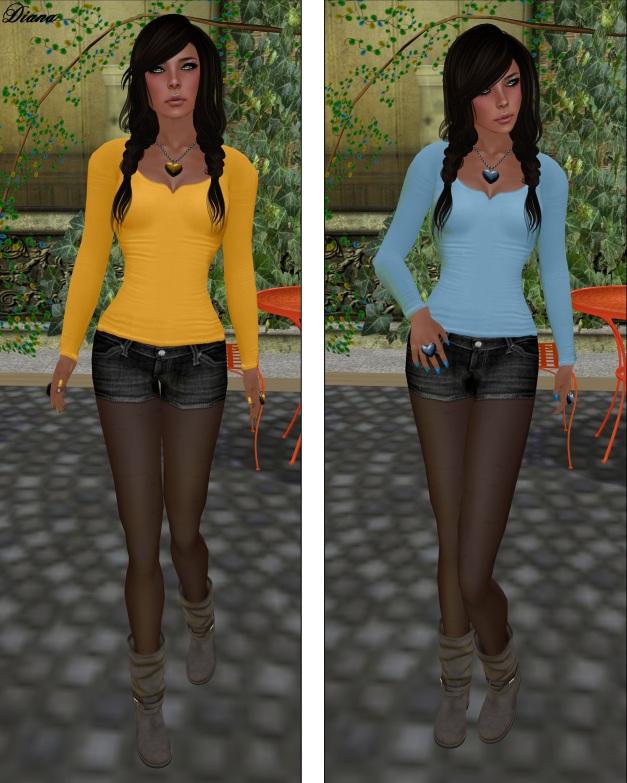 Izzies - Basic Longsleeve Shirt Autumn Set  and Spring Set