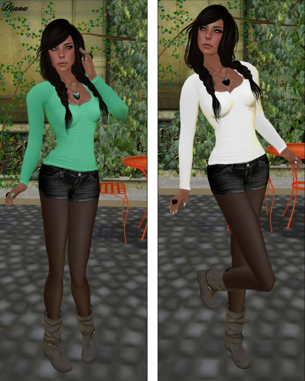 Izzies - Basic Longsleeve Shirt Summer Set  and Winter Set