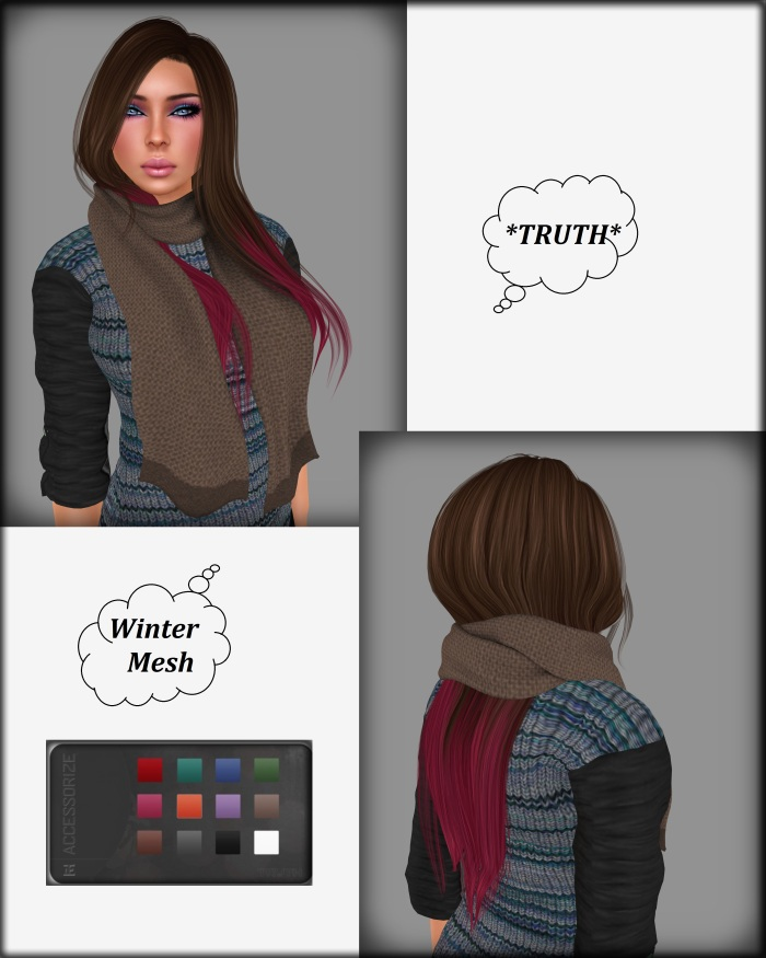 Winter Mesh chocberry