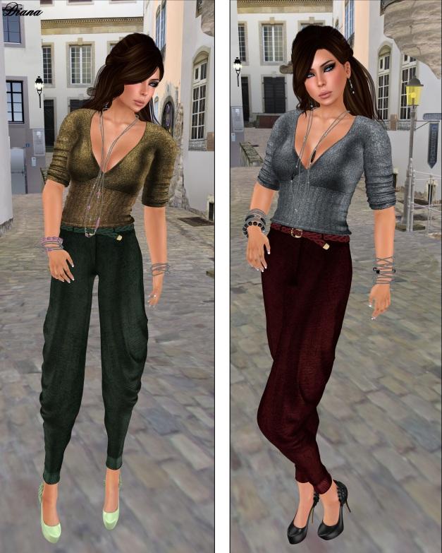 Baiastice - Lexi Shirt,Lima Trousers