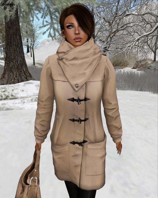 erratic - Bethany Duffle Coat (beige)-2