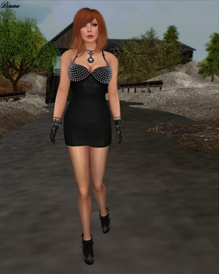 G&D Dress Mesh Jenna-1