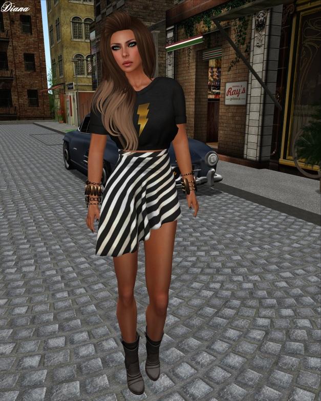 Hucci - Jos Crop Tee and Ilu Skirt-1