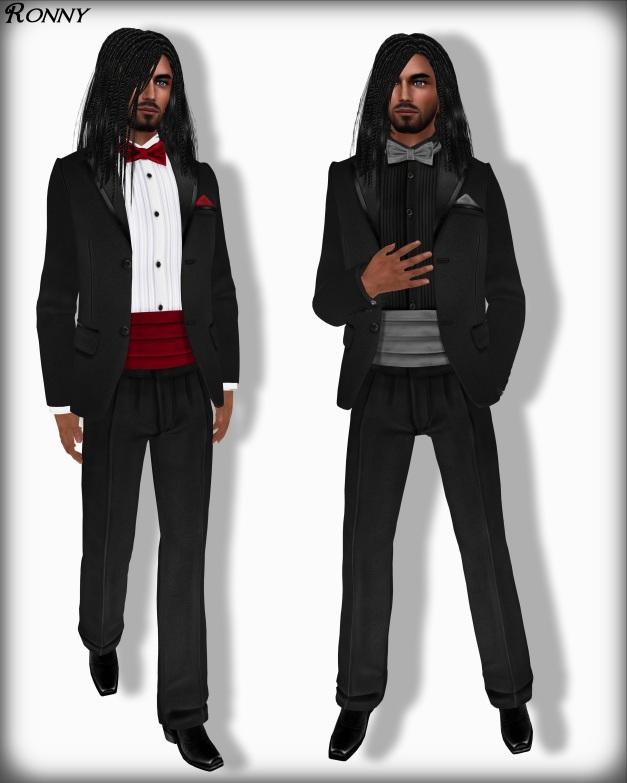 Lapointe & Bastchild - Mesh 2013 Classic Black Tuxedo Open Version 2-2