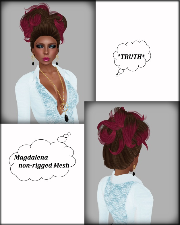Magdalena Mesh chocberrry