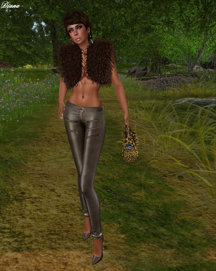 MG - Fur Bolero Yolanda (ChocolateMink)