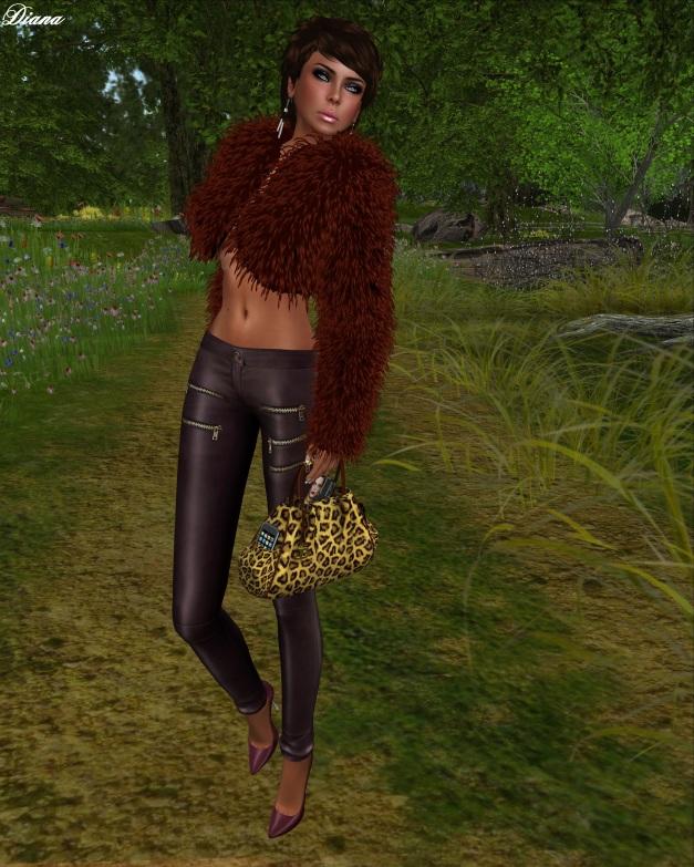 MG - Fur Bolero Yolanda (RedFox)