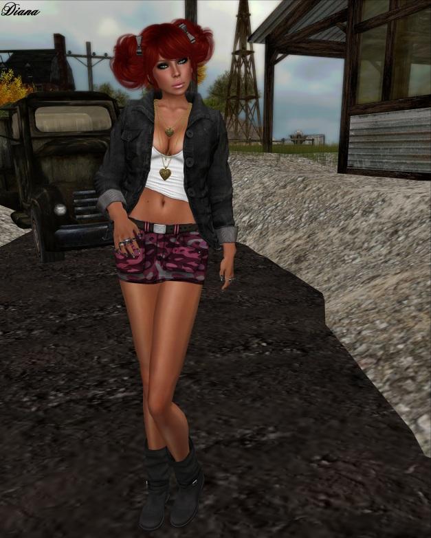 Miel - Cargo Skirt Bright and chronokit - Fabre Jacket black