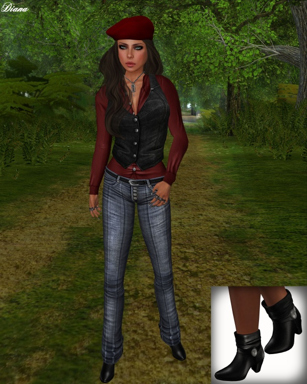 Opium - Mesh Outsider Outfit BlueB