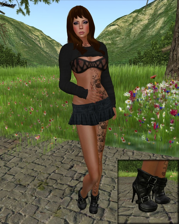 Cole - Ivy Skirt and Boobie Sweater-1