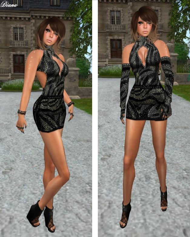 Immerschoen-BodyCult - Dress Diva Kristal