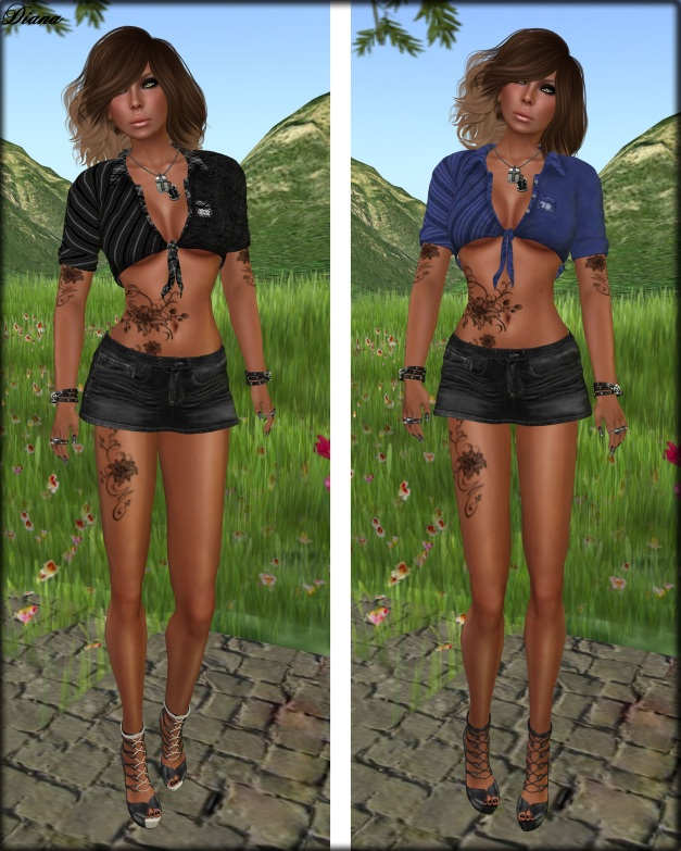 Immerschoen-BodyCult - Mesh Knot Shirts Faye-A 4-1