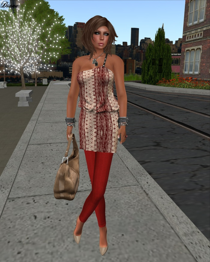 Maitreya - Dakota Dress (Batik Print)