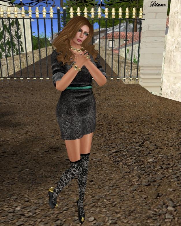 Peqe - TLC Dress Black
