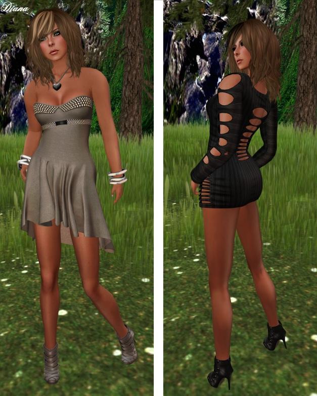 Ducknipple - Fairy Booty Dress and Shredded Dress