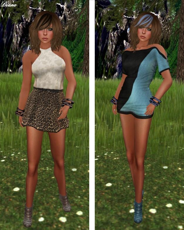 Ducknipple - Layla Dress and Zipper Dress