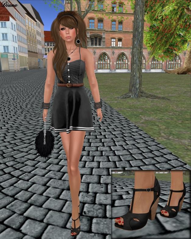 mon tissu - Daydream Dress black