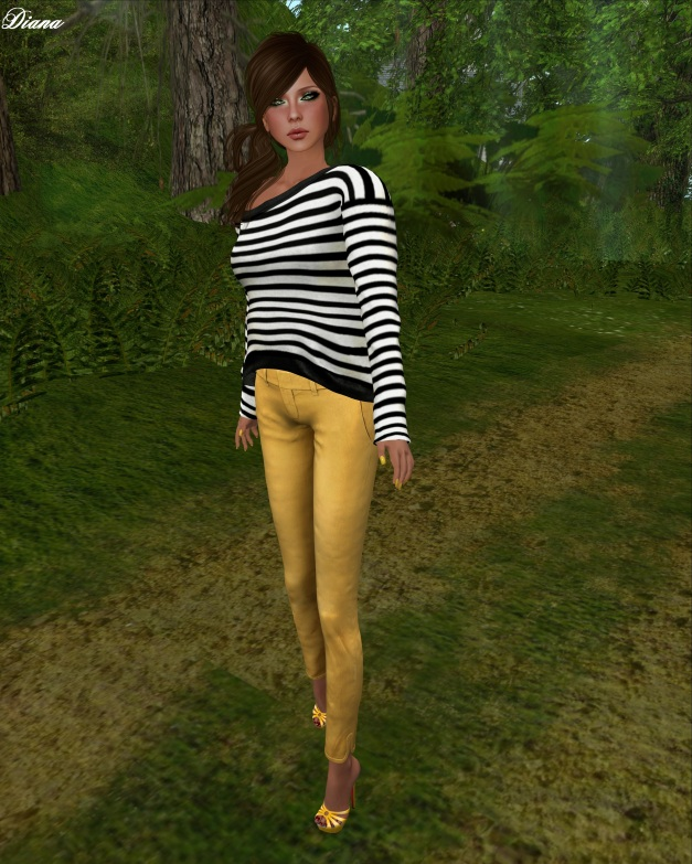 mon tissu - Oversized Shirt and Bloomsbury Trousers