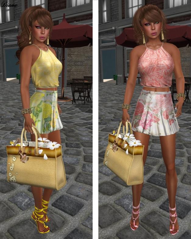 Baiastice - Lari Halter Neck Top and Didi Skirt-1